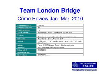 Team London Bridge