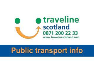 Public transport info