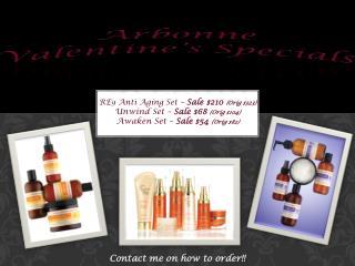 Arbonne Valentine s Specials