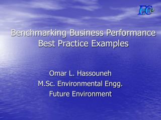 Benchmarking Business Performance Best Practice Examples