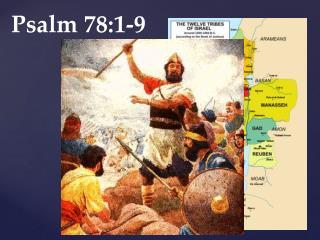Psalm 78:1-9