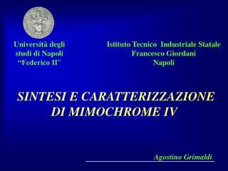 """Università degli studi di Napoli """"Federico II """""""