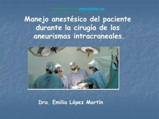 Dra. Emilia L pez Mart n