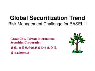 Global Securitization Trend  Risk Management Challenge for BASEL II