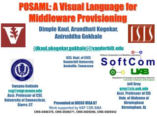 POSAML: A Visual Language for Middleware Provisioning
