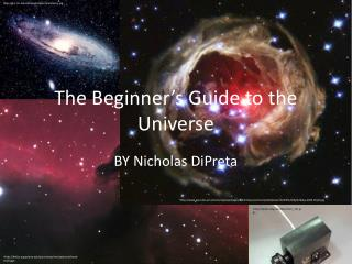 The Beginner's Guide to the Universe