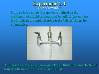 Experiment 2-1