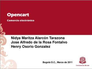 Opencart Comercio electrónico