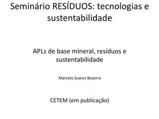 APL Instrumento de desenvolvimento regional GTP-APL redeaplmineral