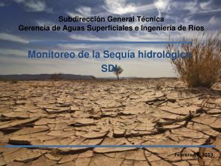 Subdirección General Técnica Gerencia de Aguas Superficiales e Ingeniería de Ríos