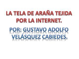 LA TELA DE ARAÑA TEJIDA POR LA INTERNET.