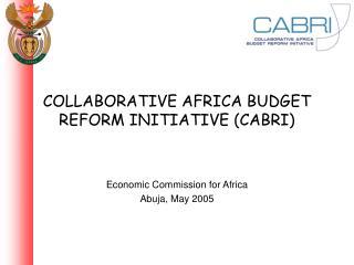 COLLABORATIVE AFRICA BUDGET REFORM INITIATIVE (CABRI)