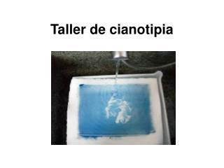 Taller de cianotipia