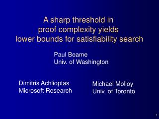 Provably hard problems below the satisfiability threshold