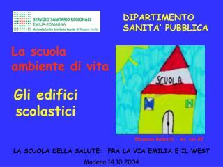 DIPARTIMENTO SANITA' PUBBLICA