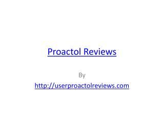 Proactol Reviews