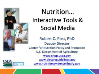 Nutrition… Interactive Tools &  Social Media
