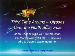 Third Time Around � Ulysses Over the North Solar Pole