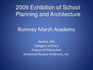 Rumney Marsh Academy