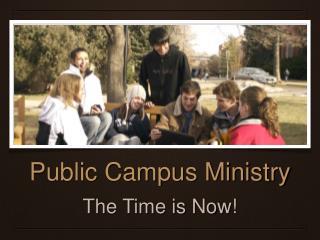 Public Campus Ministry