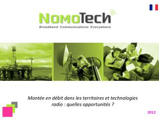 Mont�e en d�bit dans les territoires et technologies radio : quelles opportunit�s ?