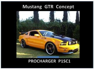 Mustang   GTR  Concept