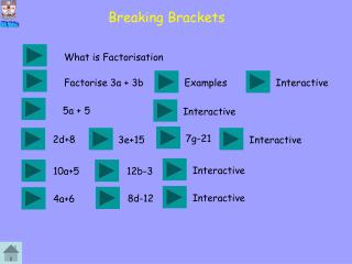 Breaking Brackets