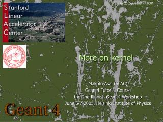 More on kernel