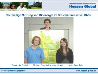 Nachhaltige Nutzung von Bioenergie im Biosphärenreservat Rhön