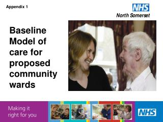 Baseline Model of care for proposed community wards