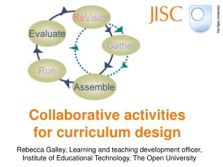 Collaborative activities for curriculum design