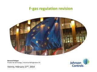 F-gas regulation revision