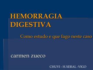 HEMORRAGIA DIGESTIVA