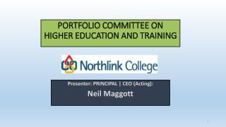 PORTFOLIO COMMITTEE ON HIGHER EDUCATION AND TRAINING