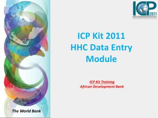 ICP Kit 2011   HHC Data Entry Module