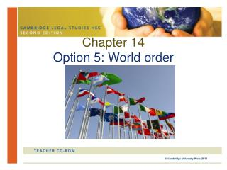 Chapter 14 Option 5: World order
