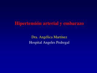 Hipertensión arterial y embarazo