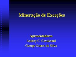 Mineração de Exceções