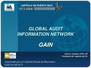 GLOBAL AUDIT  INFORMATION NETWORK