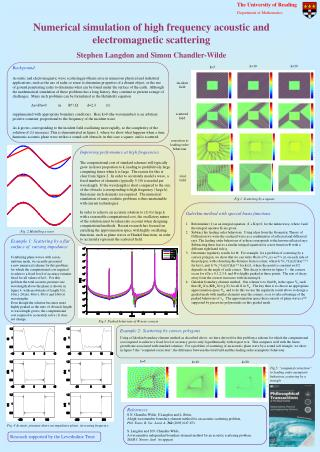 Numerical simulation of high frequency acoustic and electromagnetic scattering