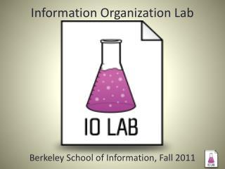 Information Organization Lab