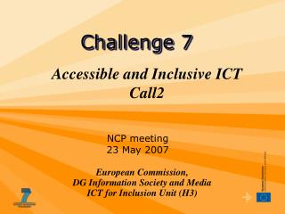 Accessible and Inclusive ICT Call2