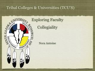 Tribal Colleges & Universities (TCU ' S)