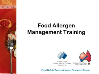 Food Allergen Management Training