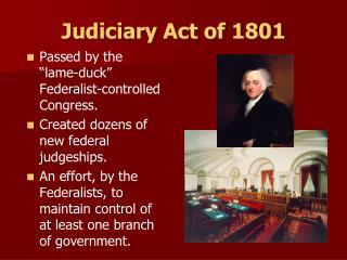Judiciary Act of 1801