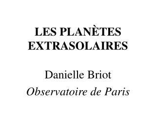 LES PLAN�TES EXTRASOLAIRES