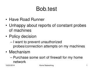 Bob.test