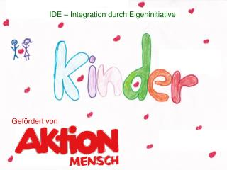 IDE – Integration durch Eigeninitiative