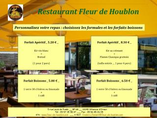 Restaurant Fleur de Houblon