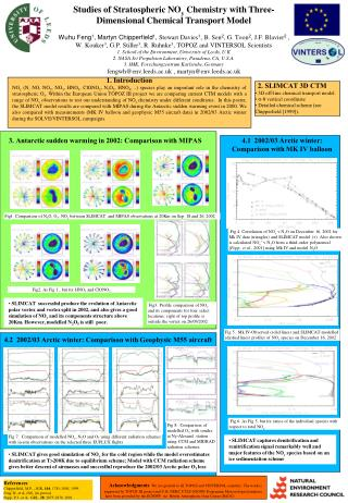 Studies of Stratospheric NO y  Chemistry with Three-Dimensional Chemical Transport Model
